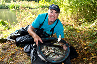 Hobgoblin Championship at Evesham 2016 - Alan Scotthorne and his 7lb 12oz from Peg 50