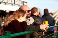 Fans before the Gloucestershire FA Trophy Final between Cheltenham Town Ladies First and St Nicholas Ladies Reserves