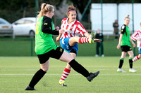 Gloucestershire FA Trophy Final between Cheltenham Town Ladies First and St Nicholas Ladies Reserves
