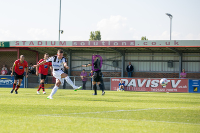 Ben Wright converts the penalty