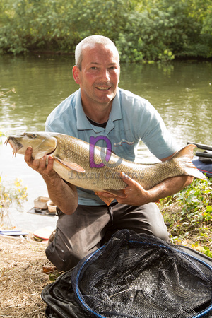 Andrew Murphy with his 11lb Barbel