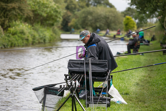 9. D section - Mark Wain, Matlock Angling Club -Angling Trust Division 1 National Championships 2017